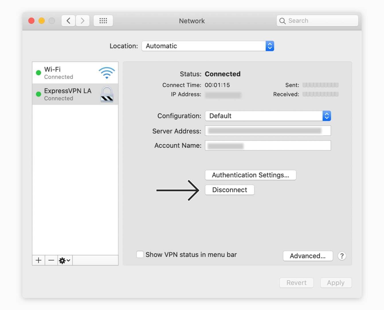 mac 10.15 disconnect vpn - Vpn Connection User Authentication Failed Mac