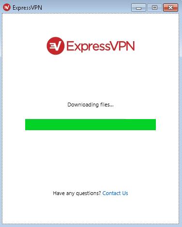"screenshot of stuck ""downloading files"" screen"