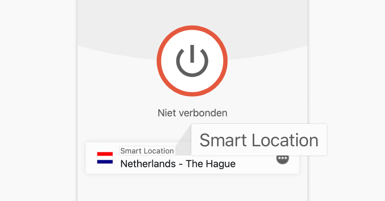 De functie Smart Location beveelt automatisch de locatie aan die voor u optimaal is.