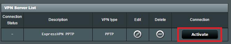 activate pptp expressvpn