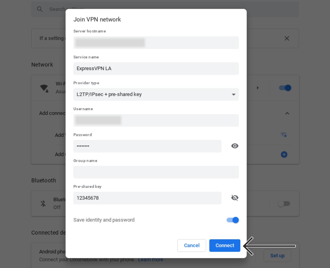 Express Vpn Server Name Or Address