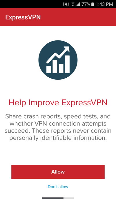 expressvpn android allow analytics