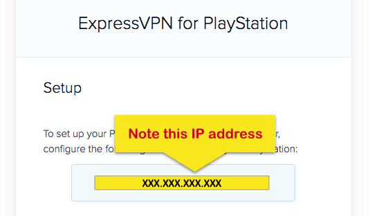 playstation ip address