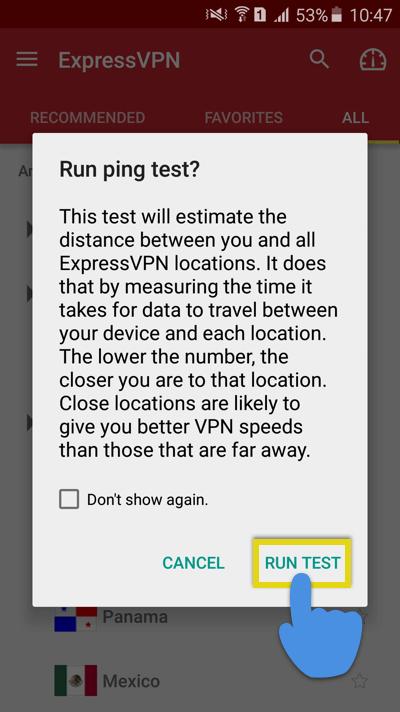 run-ping-test