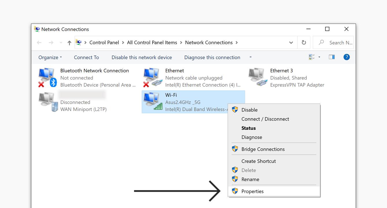 Restore Your Windows Internet Connection Expressvpn