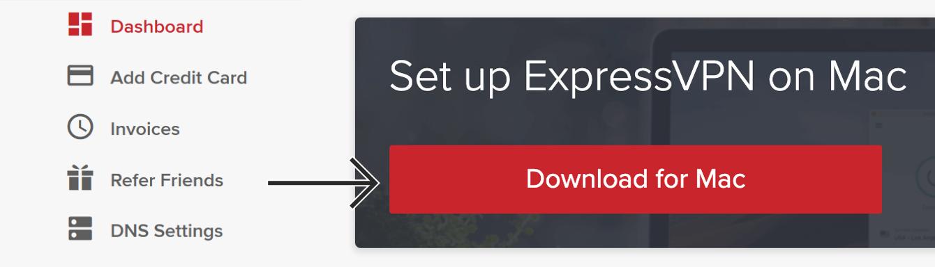 "Click ""Download for Mac."""