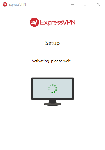 "stuck on the ""activating, please wait"" screen?"
