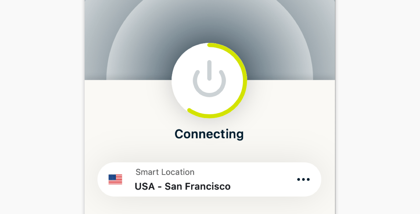 """Your connection to the VPN is stuck on """"Connecting."""""""