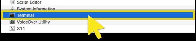 select-terminal