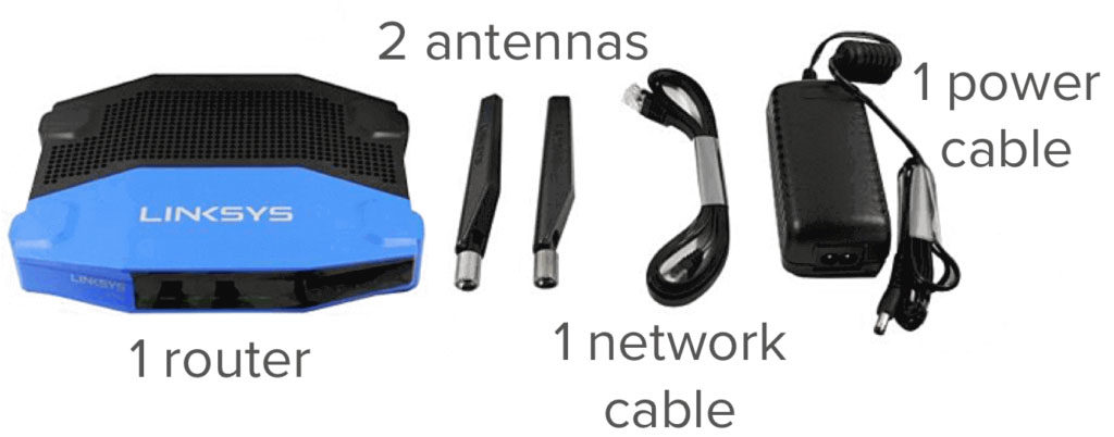 linksys router all items