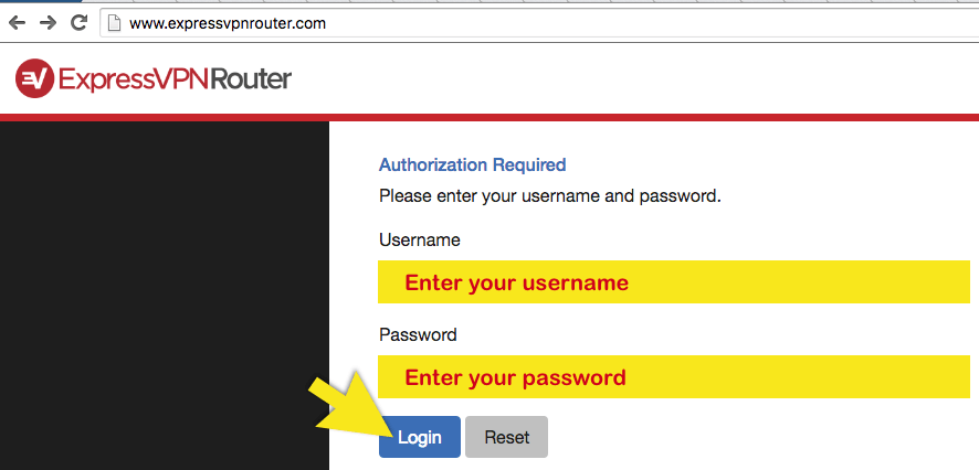 log-in-router-site
