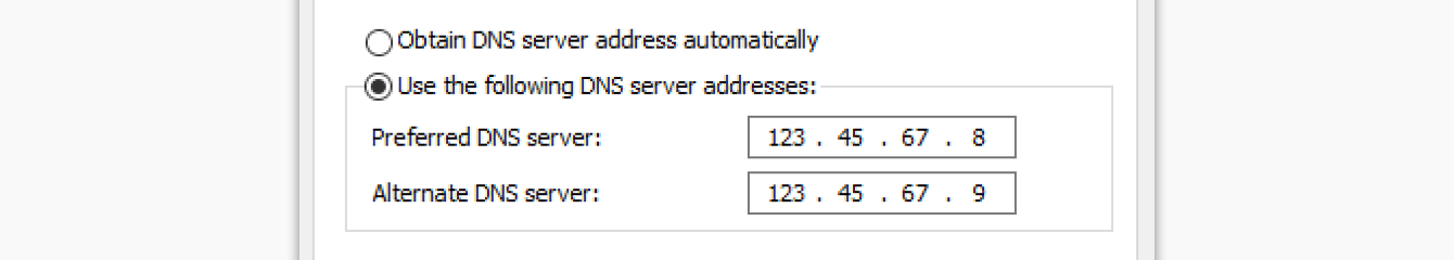 Enter the MediaStreamer IP addresses you found earlier.""