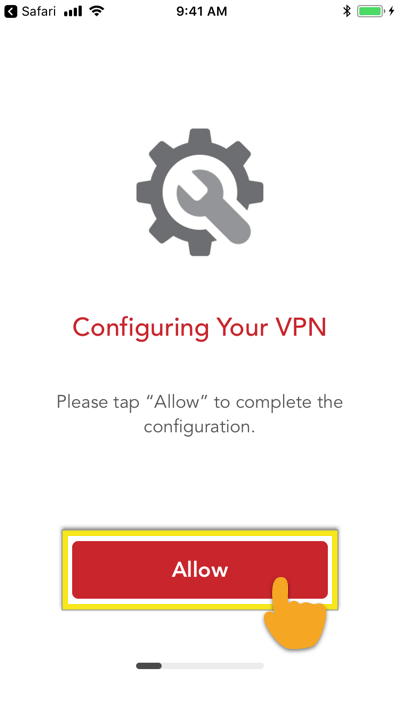 expressvpn ios configure vpn