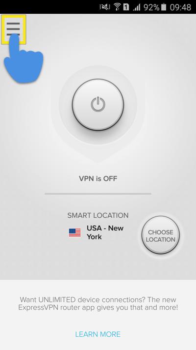 tap-settings