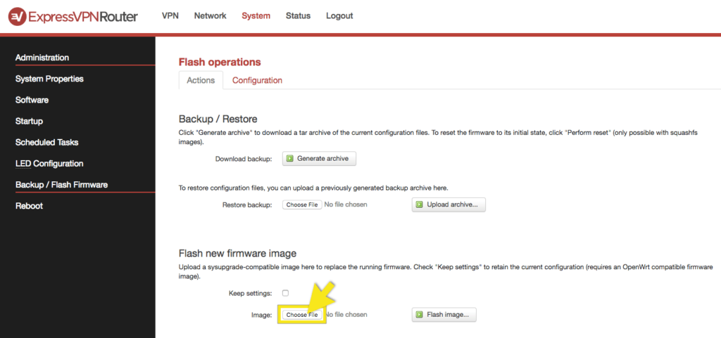 How to Reset Your ExpressVPN Router to Original Firmware | ExpressVPN