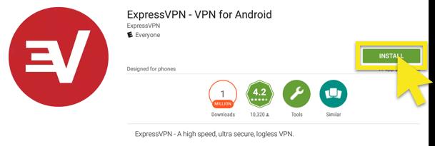 click install expressvpn