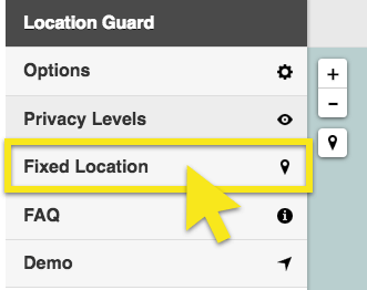 select fixed location