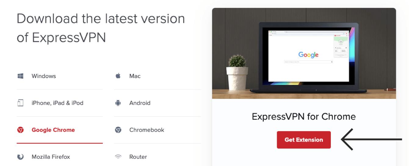 """Click """"Get Extension."""""""
