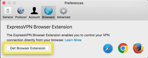 get vpn browser extension for mac