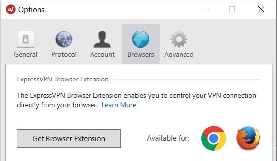 windows get extensions