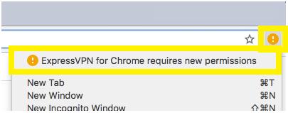 expressvpn requires permissions