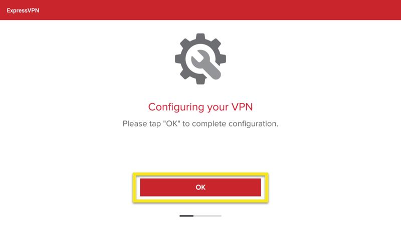 configure vpn ok