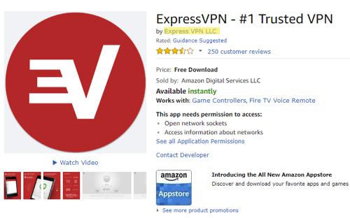 amazon verify expressvpn