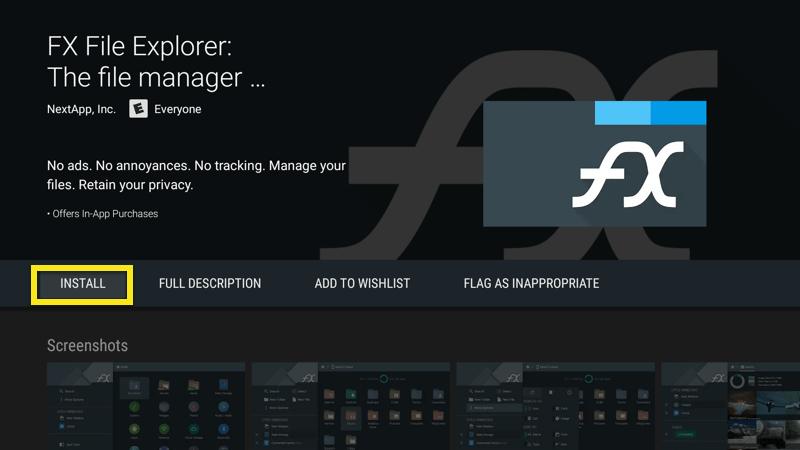 Install FX File Explorer.