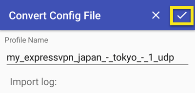 android openvpn convert config file