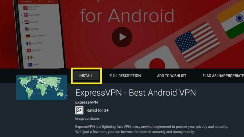 mi box install expressvpn app