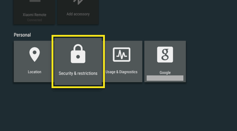 mi box security restrictions