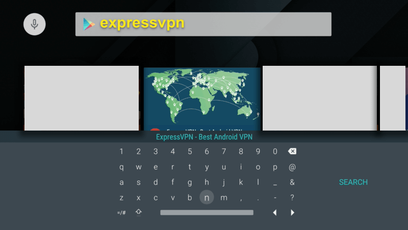 play store search expressvpn app