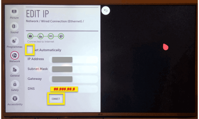 How to Set Up a DNS on LG Smart TV | ExpressVPN