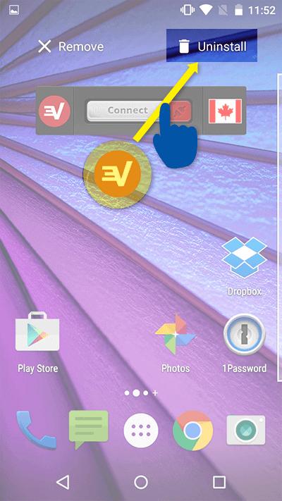 Android设置和使用ExpressVNP教程