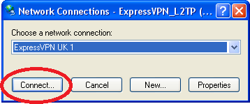 choose network connection