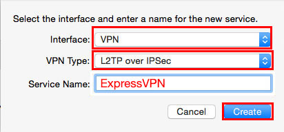 select l2tp over ipsec