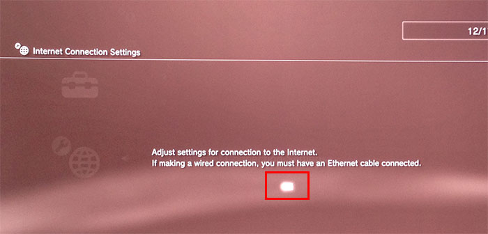adjust internet connection settings