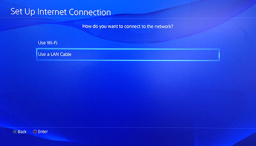 connect to network