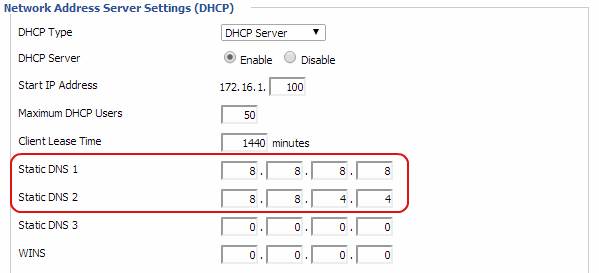 dd wrt dns settings