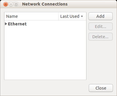 add network connection